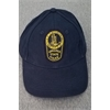 Hat Navy Cap With Patch