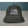 Hat - Thin Blue Line Small/Mediuml, Black