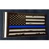 Sticker - Thin Blue Line Flag Decal- 129