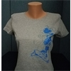 T-Shirt - Woman's Gray-Small