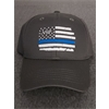 Hat - Youth Thin Blue Line Adjustable Hat - 314 Gray
